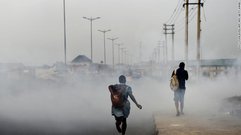 Nigeria pollution air pollution