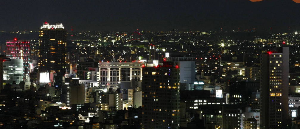 A view of Tokyo, one of Asia's best-prepared cities. --Image: REUTERS/Toru Hanai