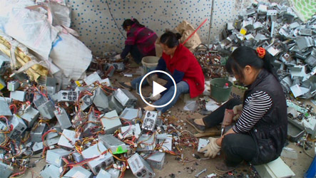Where your used electronics go in China