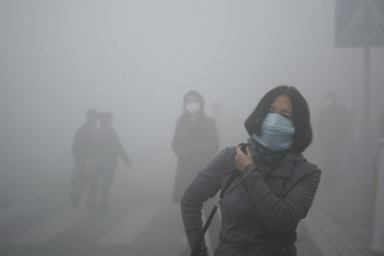 Forty-eight percent of days last year in Beijing had clean air, while 16 percent of days suffered heavy air pollution.