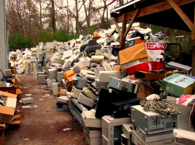 E-waste in Alabama. Photo: Curtis Palmer