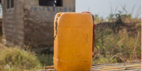 A jerrycan. Photo by: Tadesse / UNICEF Ethiopia / CC BY-NC-ND